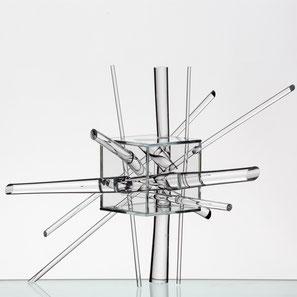 Korbinian Stöckle, Glas, Kunst, Zeitmodell, Glasmuseum Riihimäki, Glasmuseum Gernheim