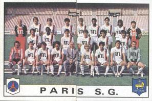 N° 220 et 221 - Equipe PSG
