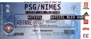 2007-01-07  PSG-Nîmes (32ème Finale CF)