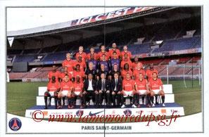 N° 366 et 367 - Equipe PSG