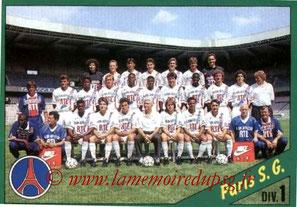 N° 175 - Equipe PSG