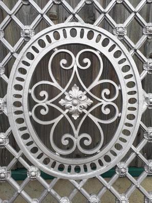 aérogommage grille métal PARIS 75