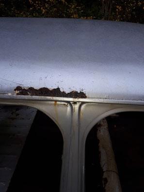 decapage par aerogommage voiture de collection 95 val d'oise