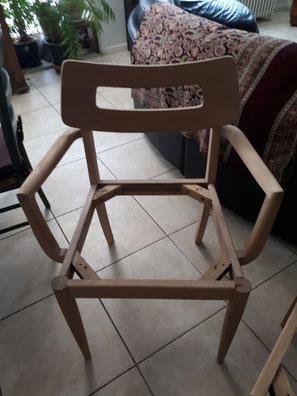 aerogommage chaise paris 75