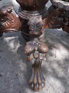 aérogommage table ancienne bois 75 PARIS