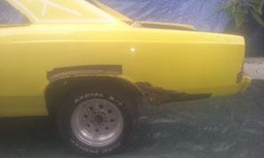Aerogommage voiture 95