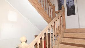 aérogommage escalier 78