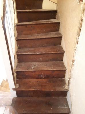 sablage escalier 75 paris