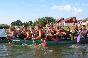 Wassersport als Firmenevent