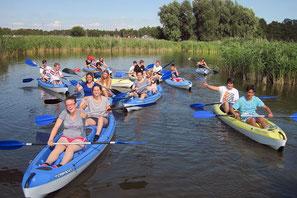 Wassersport als Firmenevent