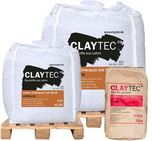 Claytec: Baustoffe aus Lehm