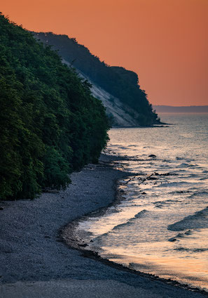 Steilküste bei Sellin