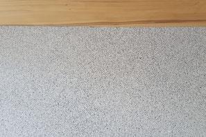 Sichtboden mit Sand aus Untervaz aufs Korn geschliffen und versiegelt.