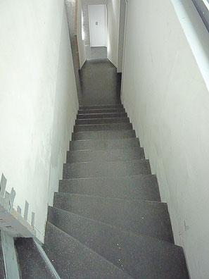 Alle Böden im ganzen Haus inklusive Badezimmer und Treppen wurden mit Anyhdrit Gegossen.