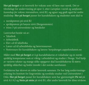 Rezension Her på berget Lehrbuch norwegisch