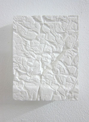 Kleines Relief 2014 Gips ca. 18 x 15 x 3 cm
