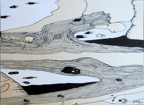 Au bord de l'eau , n°6