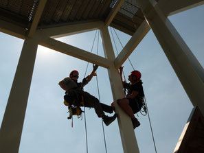 Rope access werkzaamheden