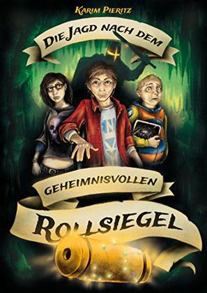 Die Jagd nach dem geheimnisvollen Rollsiegel Karim Pieritz buchcover Jugendbuch Bestseller