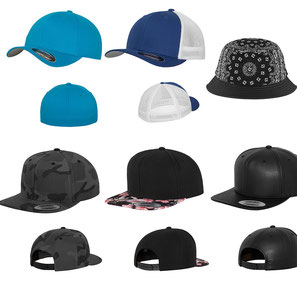 Trucker-Caps, Snapbacks, Ledercaps und mehr