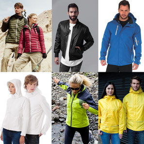 Windbreaker, Regenjacke, Soft-Shell-Jacke und mehr