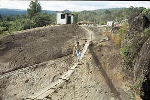 Hängebrücke Couto de Magalhaes, 1979 / Ponte suspensa Couto de Magalhaes, 1979