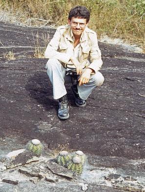 Melocactus florschuetzianus, Barrocão/Minas Gerais 1979
