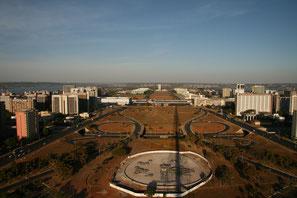 Brasilia, Esplanada dos Ministerios 2010