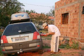 Tanken in Mato Grosso