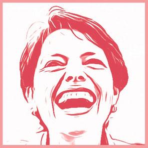 Niccel lacht – Portrait
