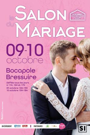 Salon du Mariage de Bressuire 9 et 10 Octobre 2021
