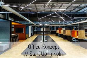 Büroplanung Start Up // Köln