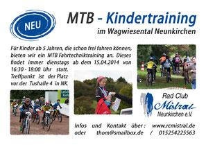 Kindertraining im Wagwiesental