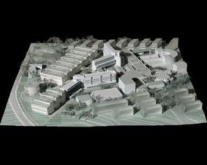 Plan masse et bâtiments des Sciences appliquées, source 2