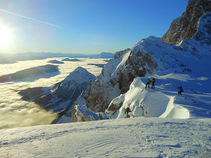 Guided hikes in Austria in France