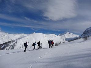 Schneeschuhwanderung Pyrenäen