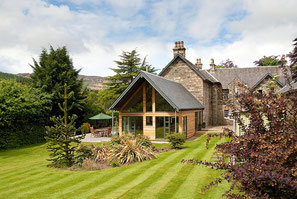 Craigatin House & Courtyard in Pitlochry