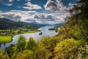 Loch Ness, Schottland, Highland, Urquhart Castle