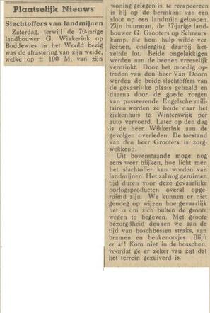 5-4-1945, Winterwijksche Courant
