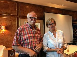 Ines Fricke und Eberhard Frank