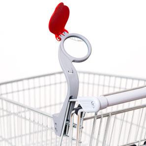 EIWAL® Einkaufswagen-Lupe Typ W-OD