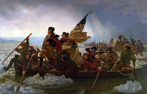 "LEUTZE, EMANUEL. ""WASHINGTON CROSSING THE DELAWARE"""