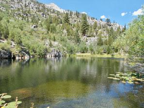 Kleiner See hinter den Hot Springs
