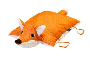 Tierkissen Fuchs orange