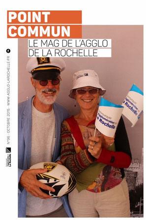 Chantal et Patrick font partie de la Communauté d'Agglomération de La Rochelle