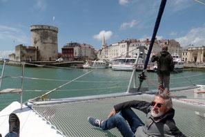 Découverte de La Rochelle et les Iles de Ré-Aix en catamaran
