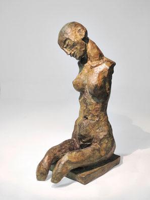 Figur 267A, Bronze, 2015, 21,5x8,5x12cm