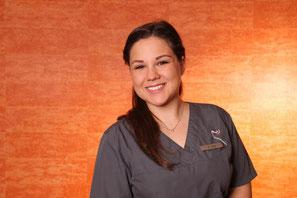 Giovanna Egly, Zahnmedizinische Fachangestellte in der Zahnarztpraxis Griesheim