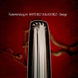 Der Weg im Kreis des Tigers (Fadenbindung im WHITE BELT & BLACK BELT - Design