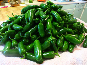 Jalapeno Peppers Open Ridge Farm Pica Verde